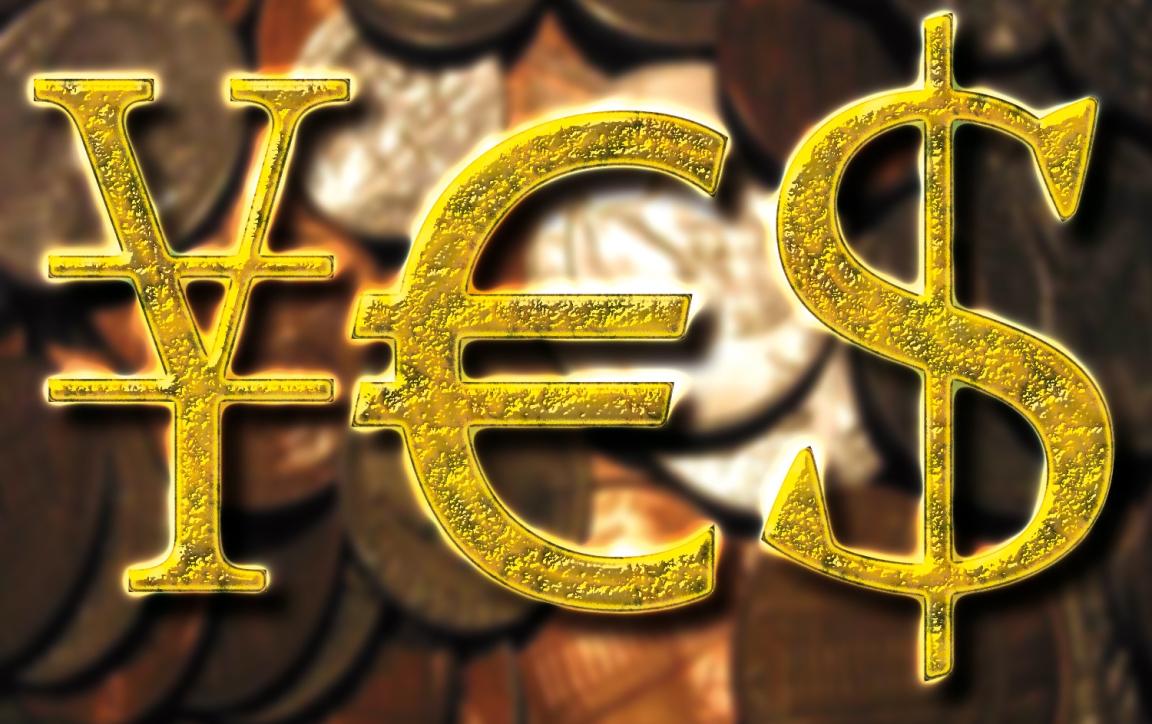 yen euro dollar